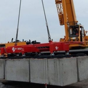 Heavy lifts up to 30 tons