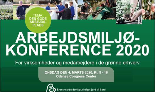 Arbejdsmiljøkonference 4. marts 2020